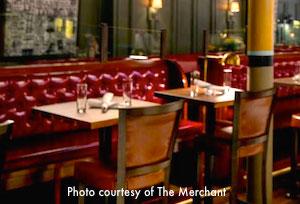 Thanksgiving dinner at The Merchant in Boston