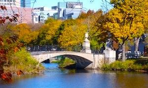 Boston Esplanade in November