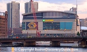TD Garden and Bruins and Celtics tickets