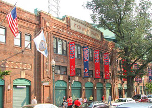 Fenway Park - photo by Bernard Gagnon, made available under the GNU Free Documentation License