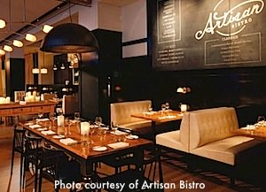 Artisan Bistro Thanksgiving Dinner in Boston