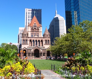 Copley Square, near the Mandarin Oriental Hotel