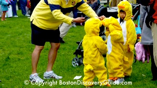 Duckling Day Parade - Mother's Day in Boston