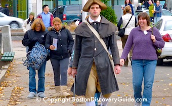 Boston walking tours - www.boston-discovery-guide.com