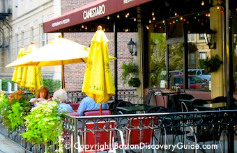 Canestaro Restaurant - great Italian cuisine in Boston's Fenway neighborhood