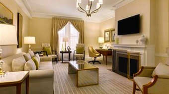 Fairmont Copley Plaza Hotel room  in Boston MA