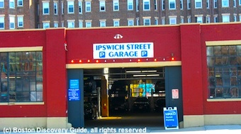 Ipswich St Garage - Boston's Fenway neighborhood
