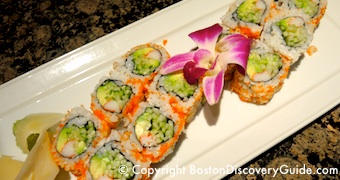 Fin's Japanese Sushi and Grill in Boston's Theatre District