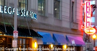 Legal Seafood in Park Square near Boston Theaters
