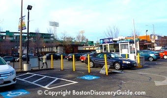 Photo of parking lot at 1282 Boylston Street near Fenway Park