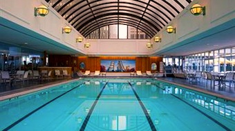 Swimming pool at Sheraton Boston Hotel