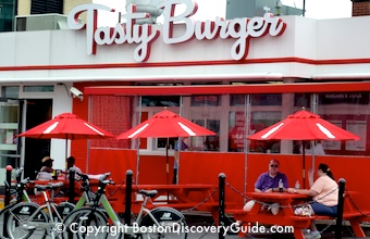 Tasty Burger, in Boston's Fenway neighborhood