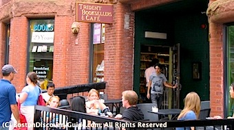 Trident Booksellers and Cafe in Boston's Back Bay
