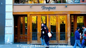 Troquet French Restaurant Boston