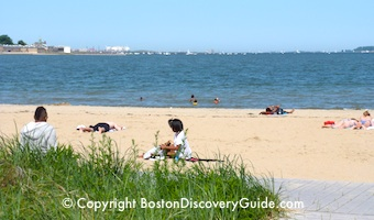 Carson Beach in South Boston