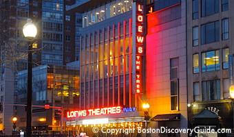 Loew's Boston Common Movie Theater - 19 screens!