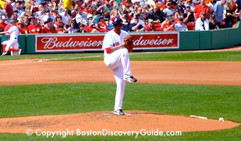 Red Sox playing at Fenway Park - Memorial Day weekend