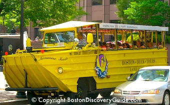 Find out about the best Boston sightseeing tours by bus, trolley, boat, bikes, or walking