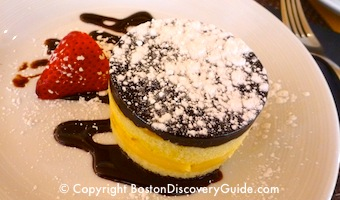Boston Cream Pie at North 26 Restaurant