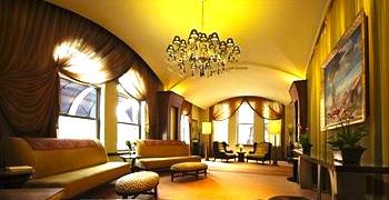 Back Bay Hotel lobby - Boston MA