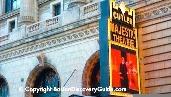 Cutler Majestic Theatre in Boston's Theatre District