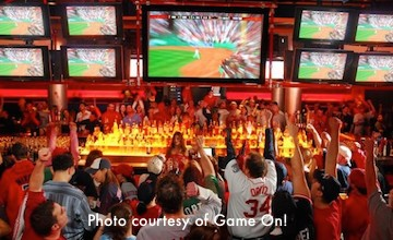 Game On - popular sports bar near Fenway Park