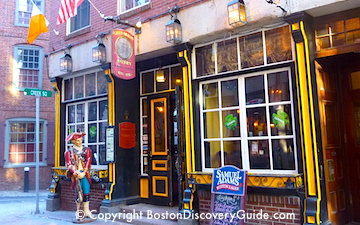 Green Dragon Tavern in Boston