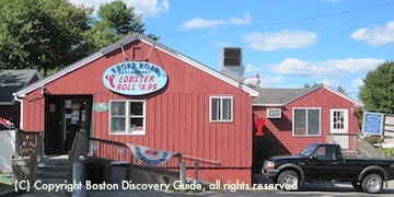 Lobster Shack - coastal Maine