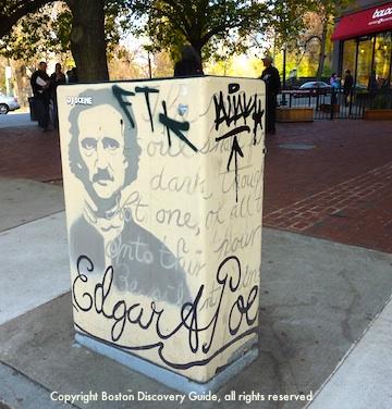 Poe Square in Boston