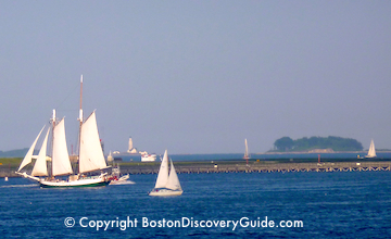 How to tour Boston Harbor Islands by sailboat