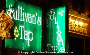 Boston Bars near Garden - Sullys