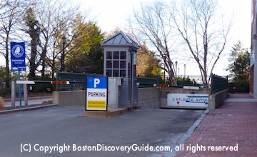 Boston Parking Garages Near North End Attractions Td Garden Faneuil Hall