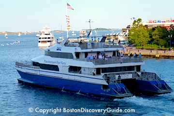 Boston to Provincetown fast ferry