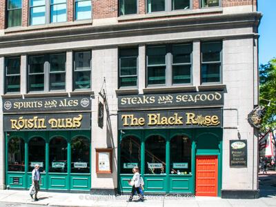 The Black Rose - Irish pub in Boston