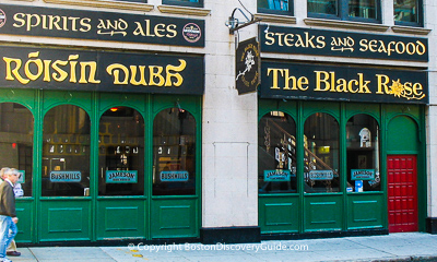 Boston restaurants - Irish pubs
