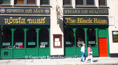 The Black Rose - Top Irish bar with live music in Boston