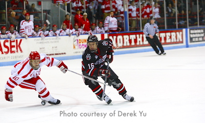 Photo of Northeastern Huskies vs Boston University ice hockey
