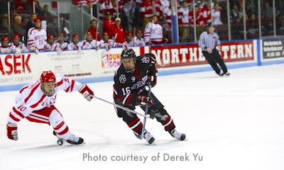 Photo of Northeastern Huskies vs Boston University ice hockey