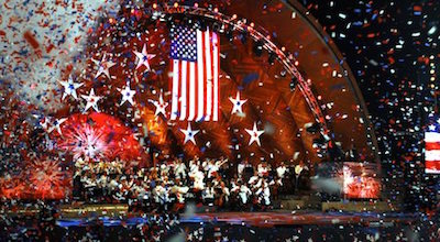 Boston Pops Concert at the Hatch Shell on the Esplanade - July 4th