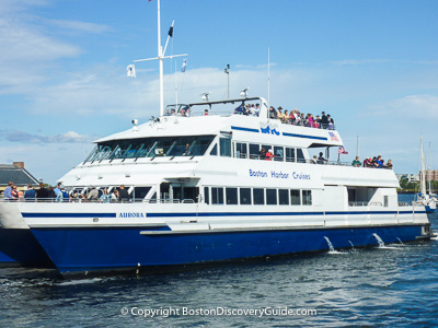 Boston attractions: Boston cruises