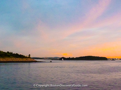 Boston attractions:  Boston Harbor Islands