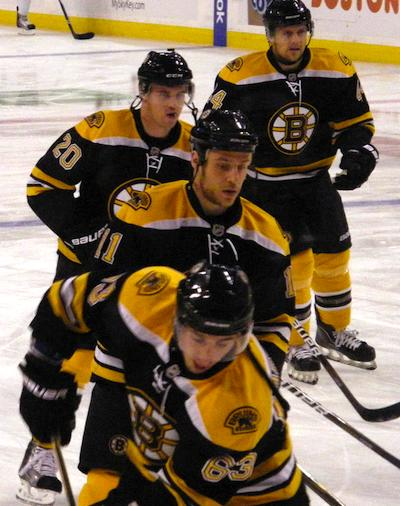 Boston Bruins home game schedule for April