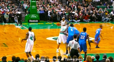 Boston Celtics home game schedule at TD Garden for March