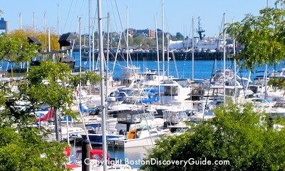 Charlestown Marina - boats