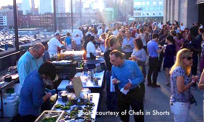 Chefs in Shorts - Boston Food Festival