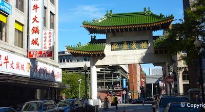 Chinatown Gate -  Boston MA