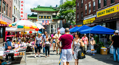 Chinatown Main Street Festival - Beach Street, near the Chinatown Gate