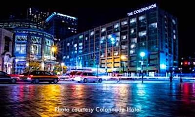 Colonnade Hotel in Boston