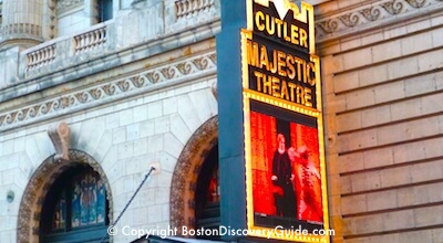 Cutler Majestic Theatre on Boylston Street