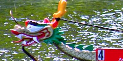 Photo of dragon boat head - Boston Dragon boat festival